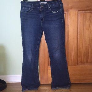 Levi's 515 bootcut blue jeans sz 10